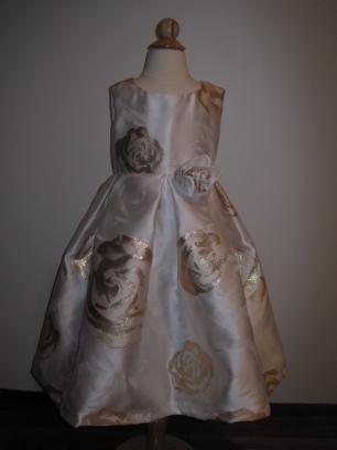 Bella ballgown (Gold Rose)