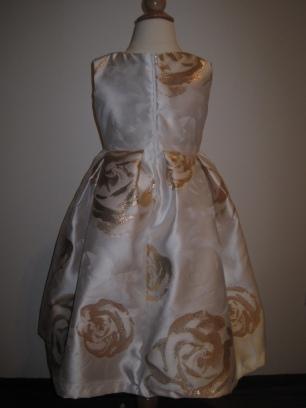 Bella ballgown- back